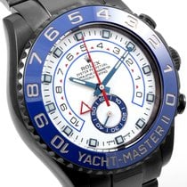 Rolex DLC/PVD Yacht-Master ll 116680 Model - Custom Black Coated