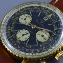 Breitling Navitimer Chronograph goldfilled case 1965 TWINJET