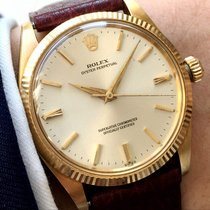Rolex 18 carat karat solid gold Automatic Datejust Design Oyster