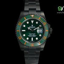 勞力士 (Rolex) Submariner Green Dial Ceramic Bezel Customized Pvd...