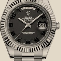 Rolex Day-Date II 41mm White Gold