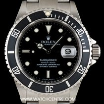 Rolex Submariner Stainless Steel Black Dial Gents 16610