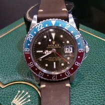 """롤렉스 (Rolex) Vintage GMT-Master """"Gilt, Tropical Dial""""..."""