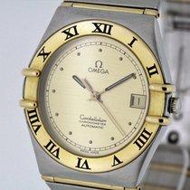 Omega Constellation Chronometer Watch golden Dial 1202100 Box...