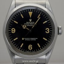 Rolex Explorer 36mm Vintage Very Rare 1016 Stainless Steel 1971