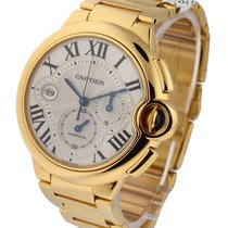 Cartier W6920008 Cartier Ballon Bleu Chronograph - Yellow Gold...