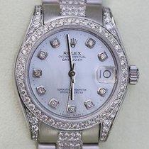 Rolex Datejust Midsize Model 178240 Mens Ladies Diamonds New...