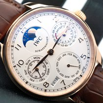 IWC Portuguese Perpetual Calendar Perpetual Moonphase IW502306