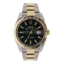 Rolex DATEJUST 41 Steel & 18K Yellow Gold Watch Oyster...