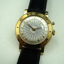 Tissot World Time 24 hr dial, 25 cities 18k c.1950's