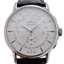 依度 (Edox) LES BÉMONTS Perpetual Calendar Men Watch 01602 3 AIN