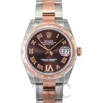 Rolex Datejust Lady Brown/Steel Ø31mm - 178341
