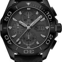 TAG Heuer Aquaracer Automatic Chronograph Calibre 16 Black...