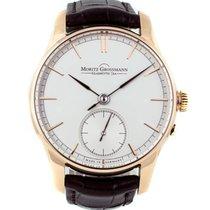 Moritz Grossmann Atum rose gold silver dial