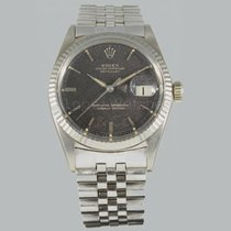 Rolex Datejust white gold tropical dial Ref. 1601