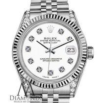 ロレックス (Rolex) Ladies Rolex 31mm Datejust White Color Dial With...
