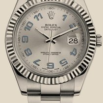 Rolex Oyster Datejust II 41mm Steel and White Gold
