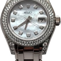 Rolex Ladies Pearlmaster Masterpiece 80359