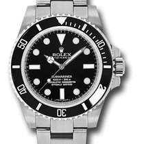 Rolex 114060 Oyster Submariner Stainless Steel & Ceramic...