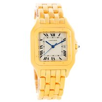 Cartier Panthere Jumbo 18k Yellow Gold Date Watch W25014b9