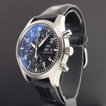 IWC Pilot's Chronograph Automatic Day Date Watch Ref....