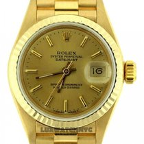 Rolex Presidential Datejust Ladies 26mm 18k Yellow Gold Bracelet