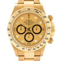 Rolex Oyster Perpetual Cosmograph Daytona 16528 Gold Diamond