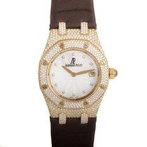 Audemars Piguet Royal Oak Women's Gold Quartz Watch...