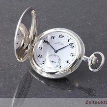 Glashütte Original J. Assmann 900 Silber Taschenuhr Savonette ...