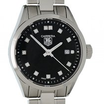 TAG Heuer Carrera Lady Diamond Stahl Quarz 27mm