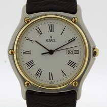 Ebel Classic Wave Watch Steel Gold Ref. 183903 (2337)