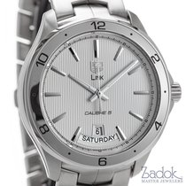 TAG Heuer Link Calibre 5 Day-Date Automatic Stainless Steel...