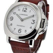 Panerai PAM 10 A PAM 10 - Luminor Base - White Dial with...