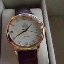 Omega De Ville Prestige Co-Axial 32,7mm Rose Gold MOP Dial