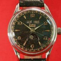 Zodiac 908 Mondphase Automatik Doppel Datum Uhr 1951