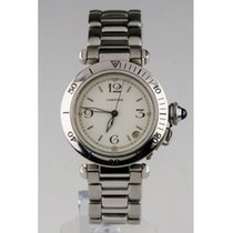Cartier Stainless Steel Automatic Pasha de Cartier Watch With...