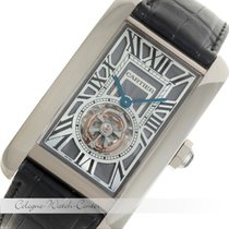 Cartier Tank Americaine Flying Tourbillon Weißgold W2620007
