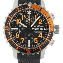 Fortis .. Aquatis B-42 Marinemaster Chronograph orange NEW...