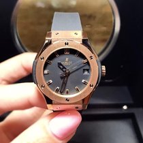恒寶 (Hublot) Classic Fusion Quartz  Gold 33mm Ladies Watch