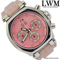 TB Buti Yanick II Tricompax Pink diamond dial Full Set 2010's