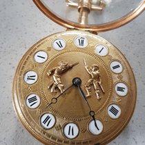33 Elicot, London - gold verge watch - Jaquemarts / figurine...