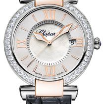 Chopard Imperiale 18K Rose Gold, Stainless Steel, Diamonds...
