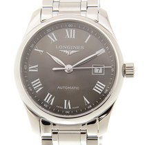 Longines Master Stainless Steel Dark Brown Automatic L2.257.4....