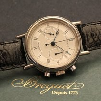Breguet Classique chronograph white gold 18kt with papers - oro