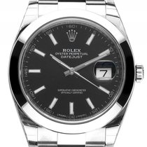 Rolex Datejust 41 Stahl Automatik Armband Oyster 41mm Ref.1263...