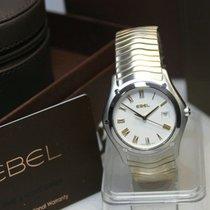 Ebel Classic Wave steel-gold - men's wristwatch, unworn