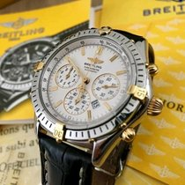 Breitling Shadow Flyback gold/steel