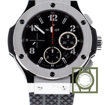 Χίμπλοτ (Hublot) Big Bang 44mm steel chronograph 301sx130rx NEW