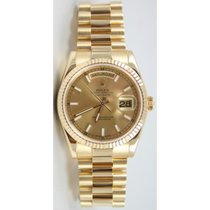 Rolex President Day-Date 118238 Men's 18K Yellow Gold New...