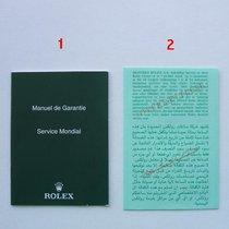 Rolex Booklet Garanzia Internazionale (NO cosc)